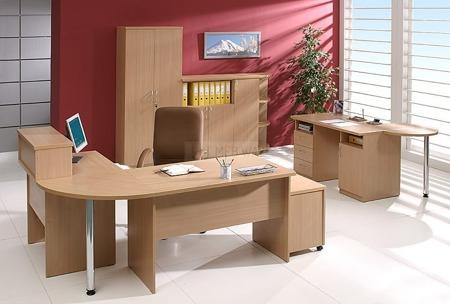 Biurko komputerowe Amber I, szerokość 140 cm, 20 kolorów