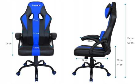 Fotel Gamingowy Huzaro Force 3.0 Niebieski