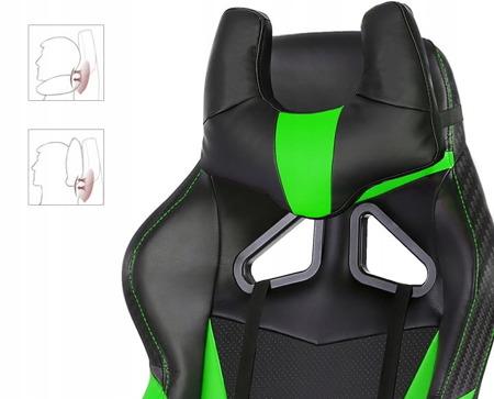 Fotel Gamingowy Huzaro Force 7.2 Green