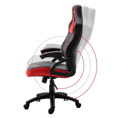 Fotel gamingowy Huzaro Force 4.2 Red