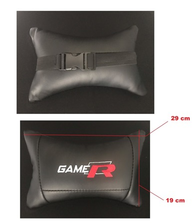 Poduszka/zagłówek do fotela gamingowego Gamer Prototype