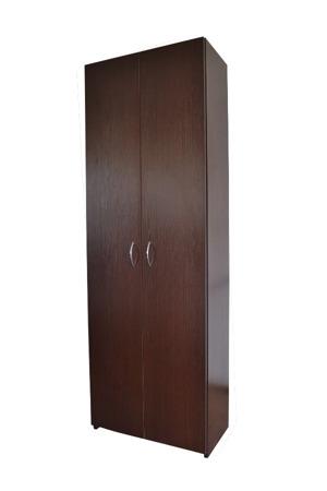SZAFA BIUROWA REGAŁ z półkami i zamkiem RODO 60cm