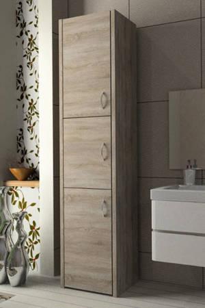 Słupek łazienkowy Adaś 3D 40 cm Sonoma