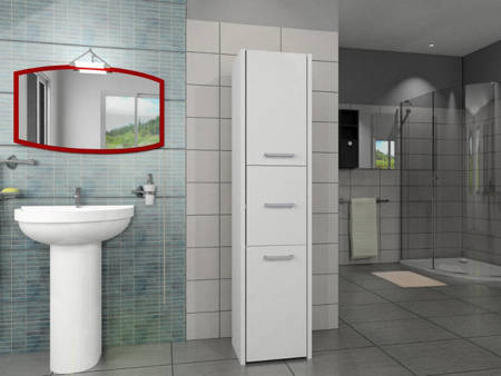 Słupek łazienkowy LUNA 30 3D
