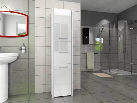 Słupek łazienkowy LUNA 30 3D Połysk