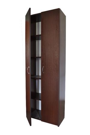 Szafa biurowa z zamkiem RODO 80cm, 5 półek