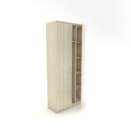 Szafa ubraniowa, bez wieńca, Naomi L, 80 cm szer. 20 kolorów do wyboru