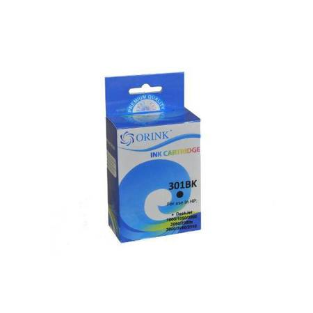Tusz HP 301XL do drukarek  Deskjet 1000 / J110 / 2000 / J210b, Czarny, 18 ml